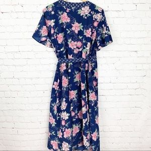 Jessica Simpson Dresses - Jessica Simpson Maternity Midi Wrap Dress